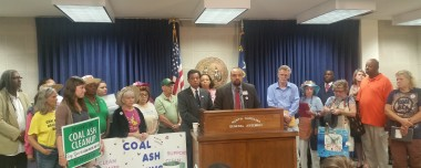 ACT Against Coal Ash open letter to the NCGA