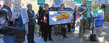 Residents demand safe, responsible cleanup of coal ash