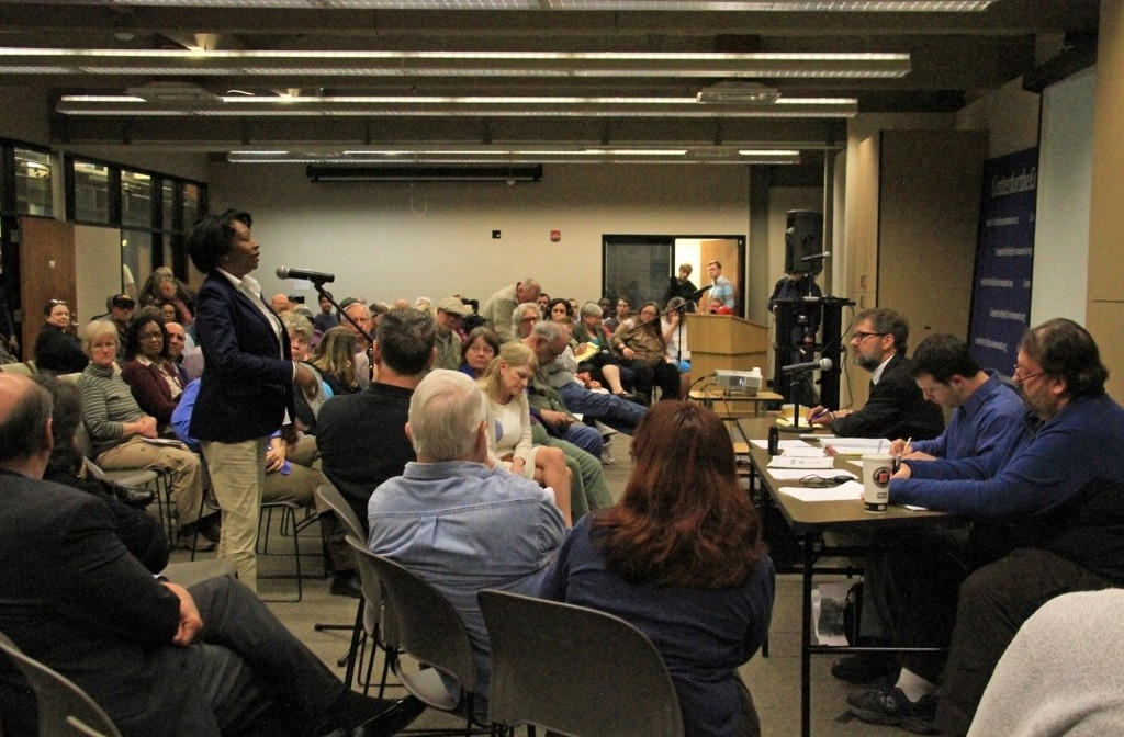 Photos from the Buck Public Hearing